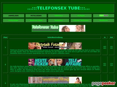 Telefonsex Tube Top100 - Der beste Telefonsex Hardcore Index